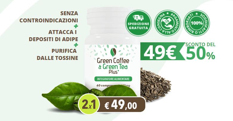 Green Coffe & Green Tea Plus: quanto cosa e dove acquistarlo