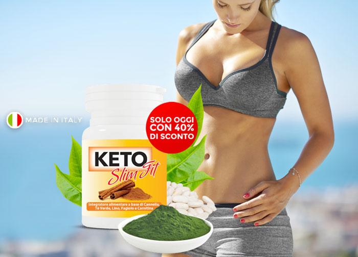 Keto Slim Fit, integratore naturale per perdere peso