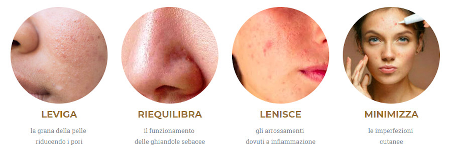 Seborax, siero anti-acne benefici