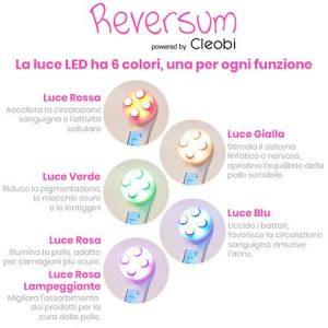 Reversum, luci al led colori