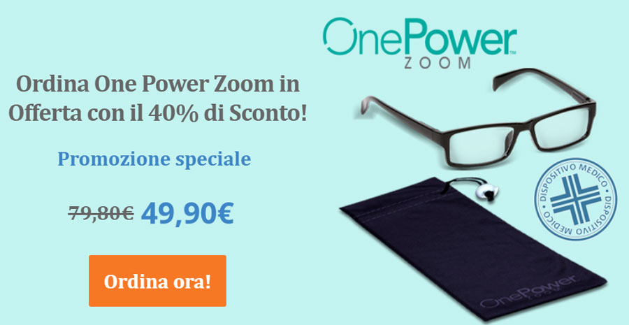 Prezzo occhiali One Power Zoom